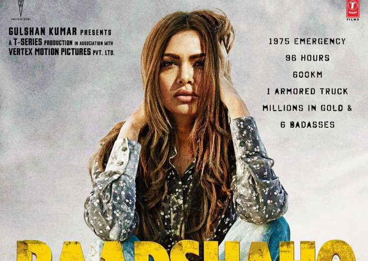 Esha Gupta's First Look From Baadshaho