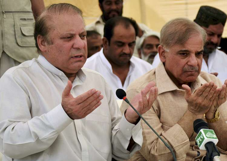 Nawaz Sharif meets top aides to deal with consequences of- India Tv