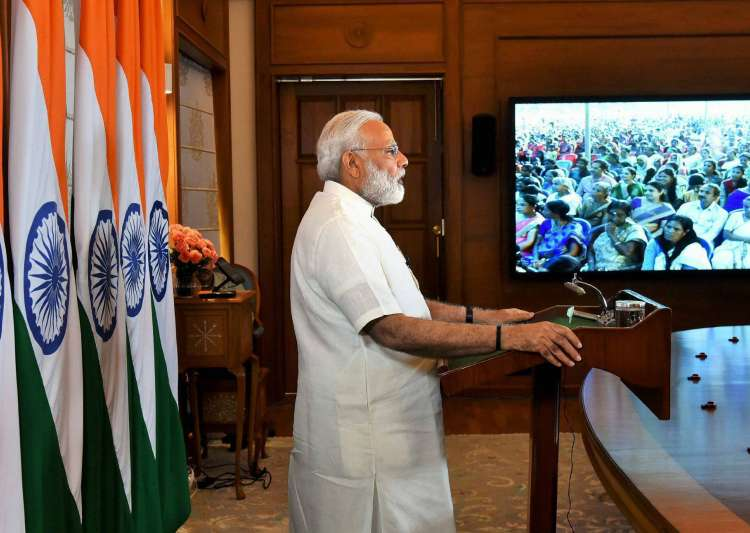 Gift a book, not bouquet, as greeting: PM Modi - India Tv