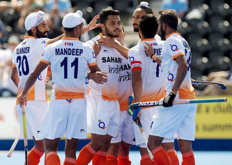 India vs Pakistan, Hockey World League Semifinal- India Tv