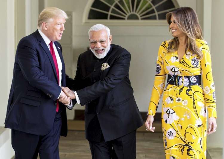 No mention of H-1B visa issue during Modi-Trump meeting - India Tv