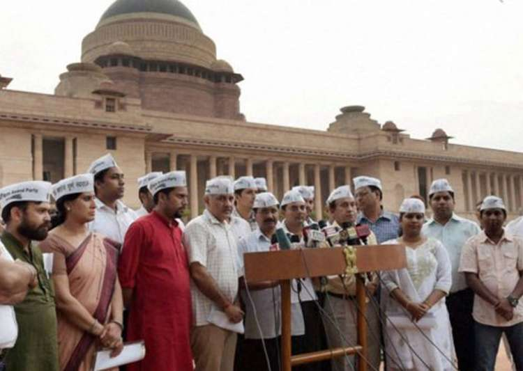 EC to continue hearing office of profit case against AAP- India Tv