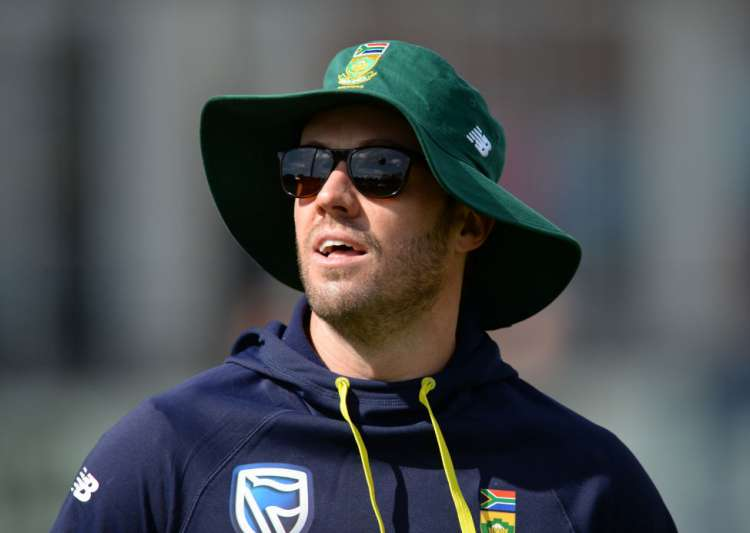 AB de Villiers of South Africa warms up before the one-day- India Tv