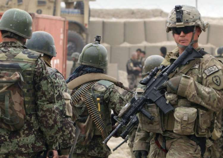 American troops in Afghanistan