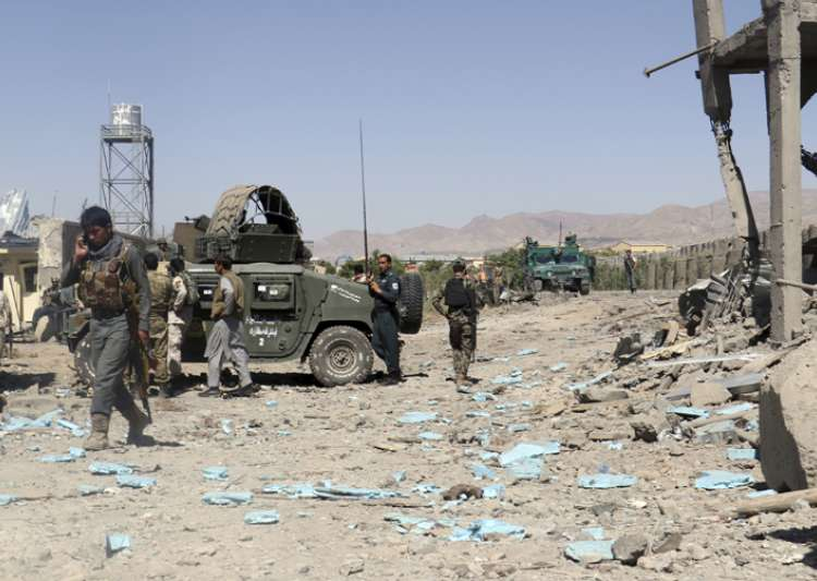 Taliban storm Afghan police compound- India Tv