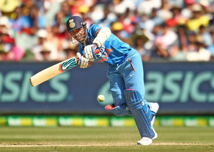 Ajinkya Rahane of India bats in action during the match - India Tv