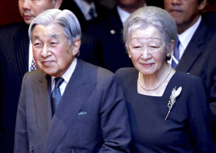 Emperor Akihito, Empress Michiko - India Tv