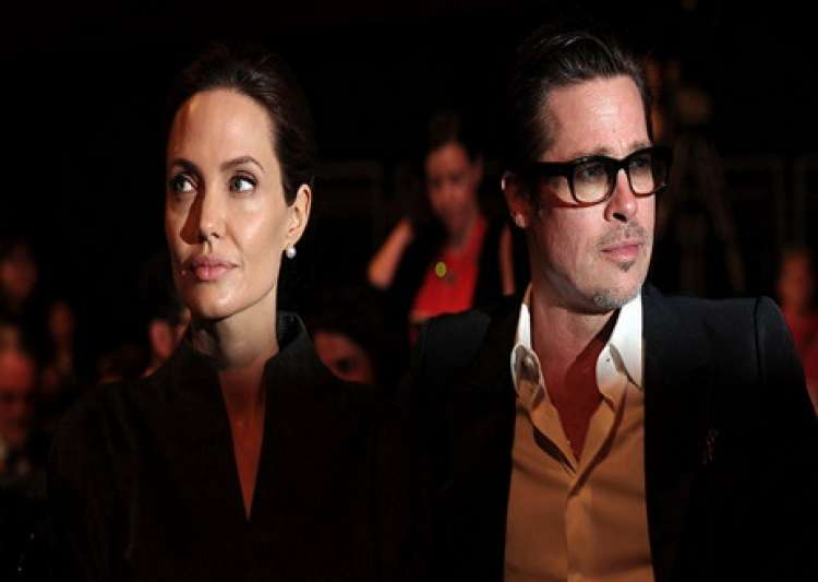 brad pitt angelina jolie- India Tv