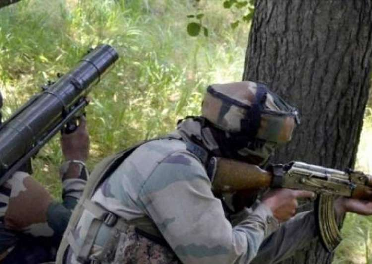 Four militants and an Army officer were killed in Nagaland- India Tv