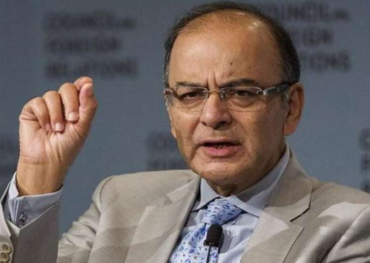 Finance minister Arun Jaitley chaired a meeting to review - India Tv