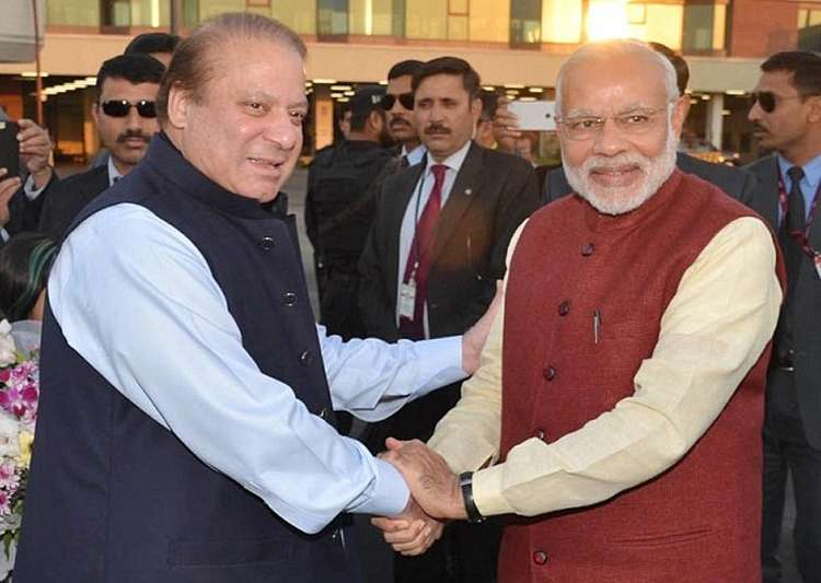 India's Modi and Pakistan's Sharif meet during SCO summit in Astana