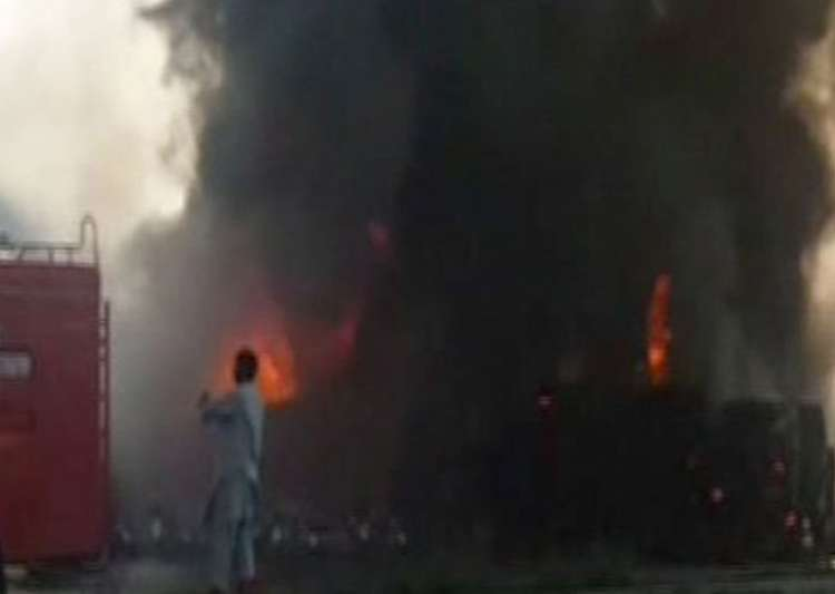 Oil tanker explosion kills more than 123 in Pakistan