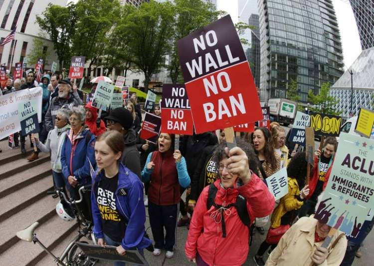 Travel ban partially reinstated, Trump calls it 'victory- India Tv
