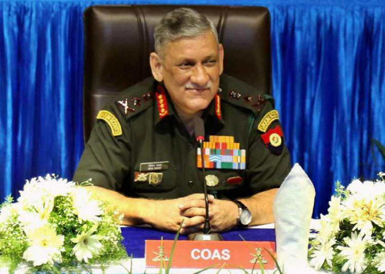 Army Chief Gen Rawat to visit Sikkim tomorrow - India Tv