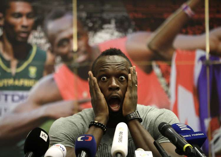 A file image of Usain Bolt.- India Tv