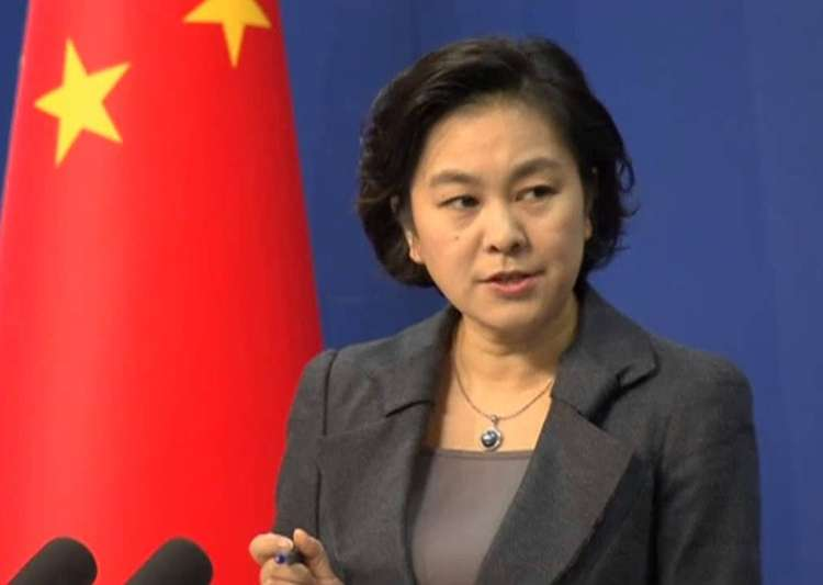 File pic of Chinese Foreign Ministry spokesperson Hua- India Tv