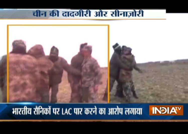Face-off between Indian and Chinese troops- India Tv