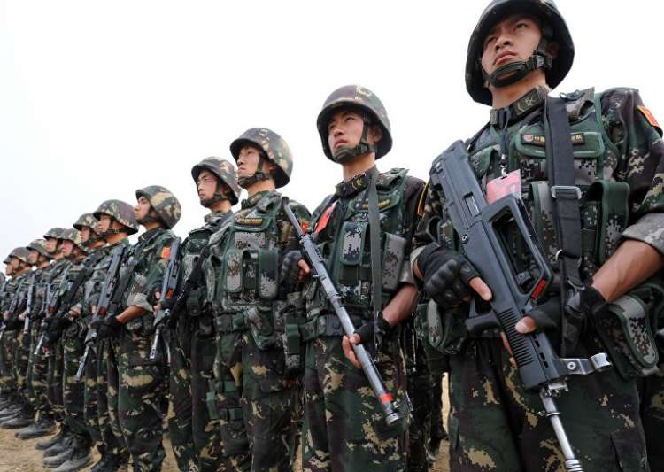 Chinese Army- India Tv