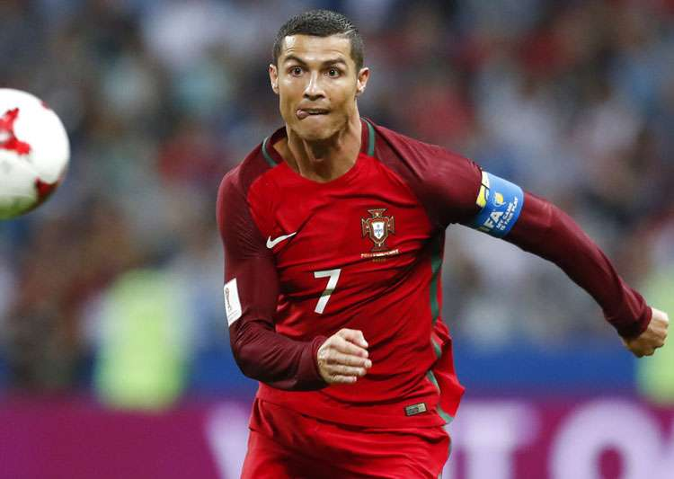 Cristiano Ronaldo in action in Confederations Cup.- India Tv