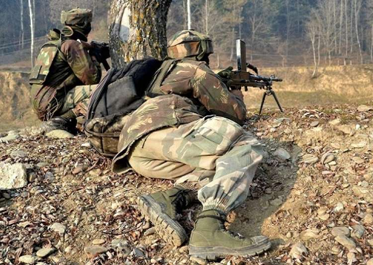 CRPF foil attack on base, kill 4 terrorists in J&K