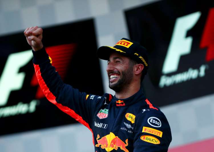 Daniel Ricciardo of Australia and Red Bull Racing- India Tv