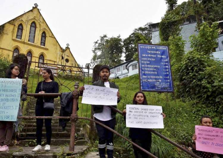 Indefinite bandh continues in Darjeeling hills