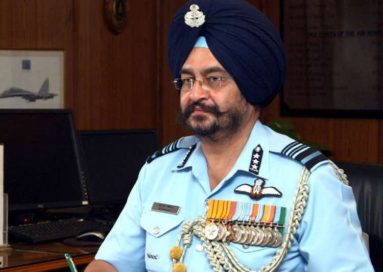 File pic of Air Chief Marshal BS Dhanoa- India Tv
