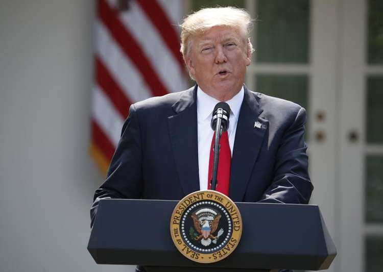 Trump speaks about the US role in Paris climate accord on