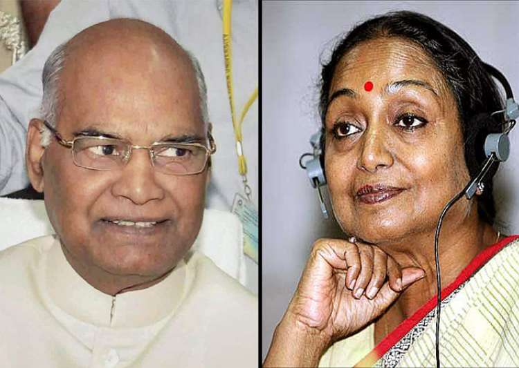 Ramnath vs Meira : Bihar Ki beti nominated for defeat , says Nitish Kumar