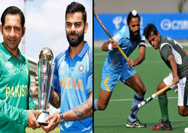 India to take on Pakistan in both cricket, hockey on Sunday- India Tv