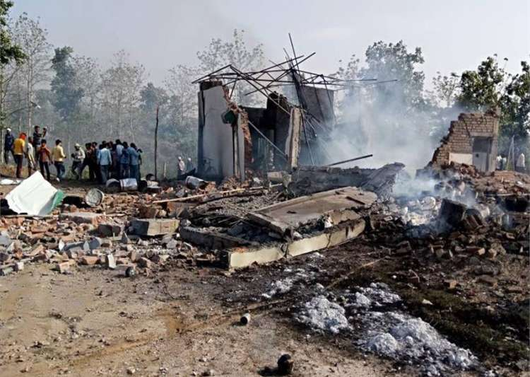 18 dead after explosion at firecracker factory in MP's- India Tv