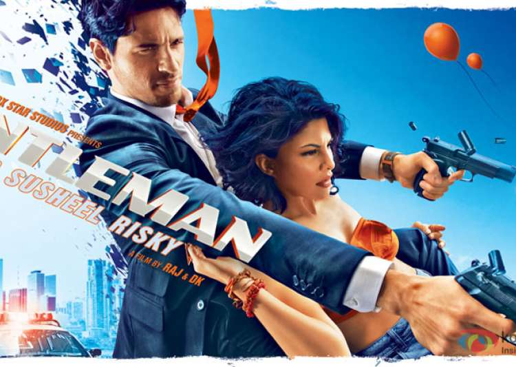 A Gentleman posters out: Sidharth Malhotra and Jacqueline- India Tv