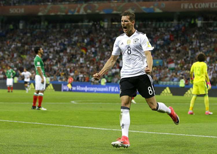 Leon Goretzka celebrates after scoring a goal against- India Tv