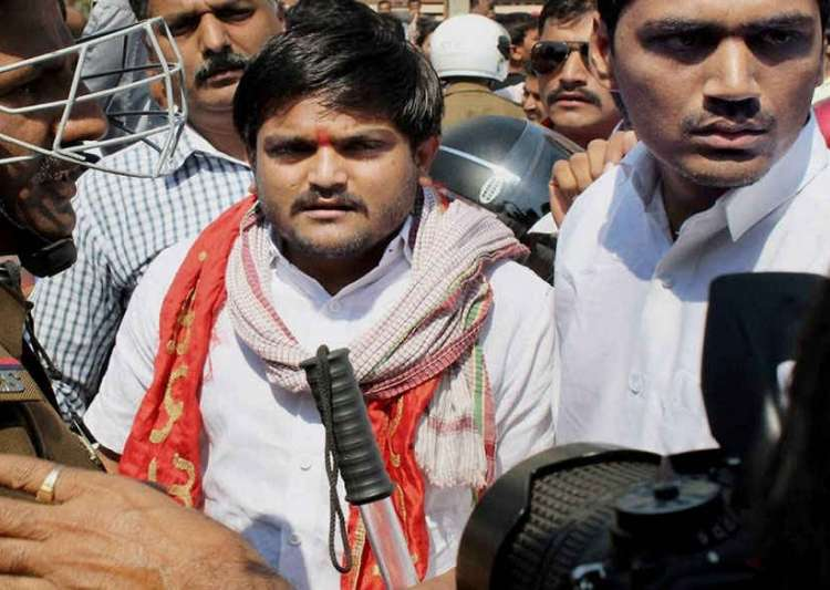 Hardik Patel detained on his way to violence-hit Mandsaur- India Tv