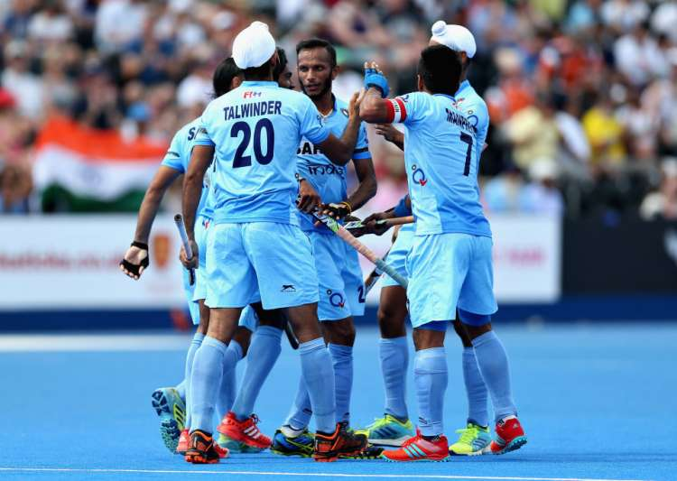 Indian Hockey Team - HWL Semifinal- India Tv