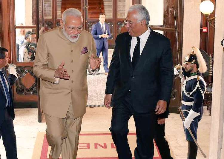 India, Portugal sign 11 pacts to boost bilateral ties - India Tv