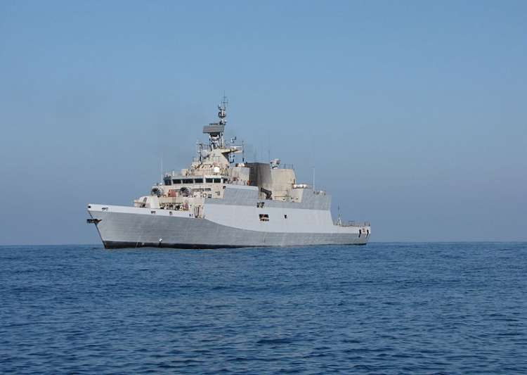 INS Kamorta- India Tv