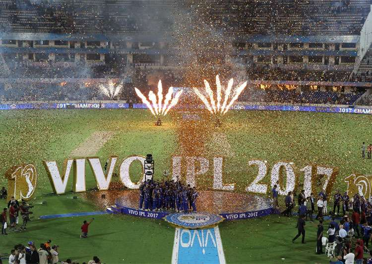 Title rights of IPL 219 billion Indian rupees