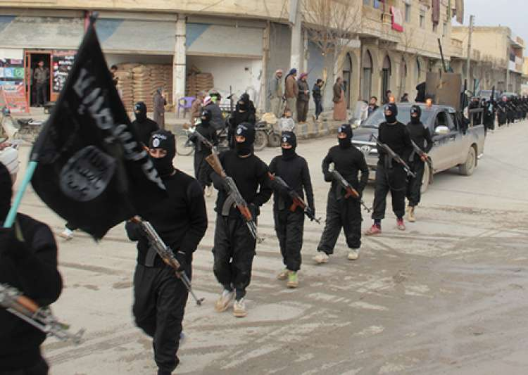 ISIS has held 100,000 civilians as 'human shields' in- India Tv