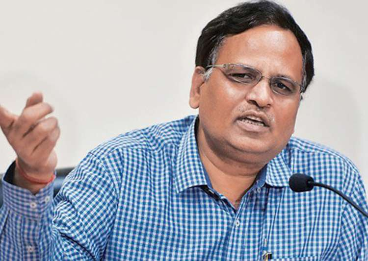 File pic of AAP leader Satyendra Jain