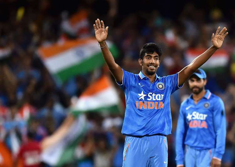 Jasprit Bumrah of India reacts after taking the wicket- India Tv