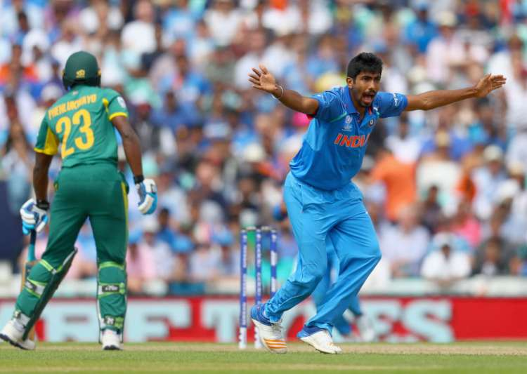 Jasprit Bumrah of India succesfully appeals- India Tv