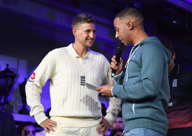 Joe Root, England Test captain talks with TV presenter- India Tv