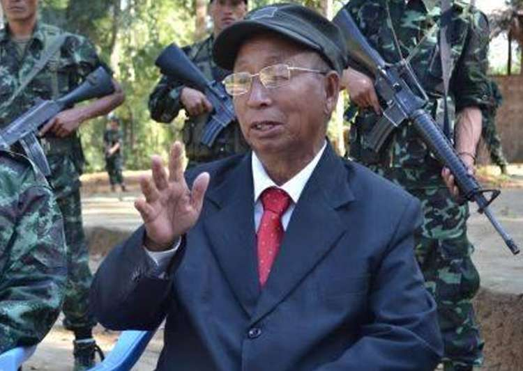 Naga leader SS Khaplang passes away