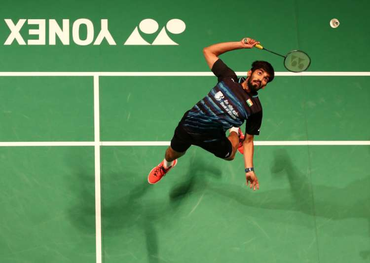 Kidambi Srikanth of India in action- India Tv