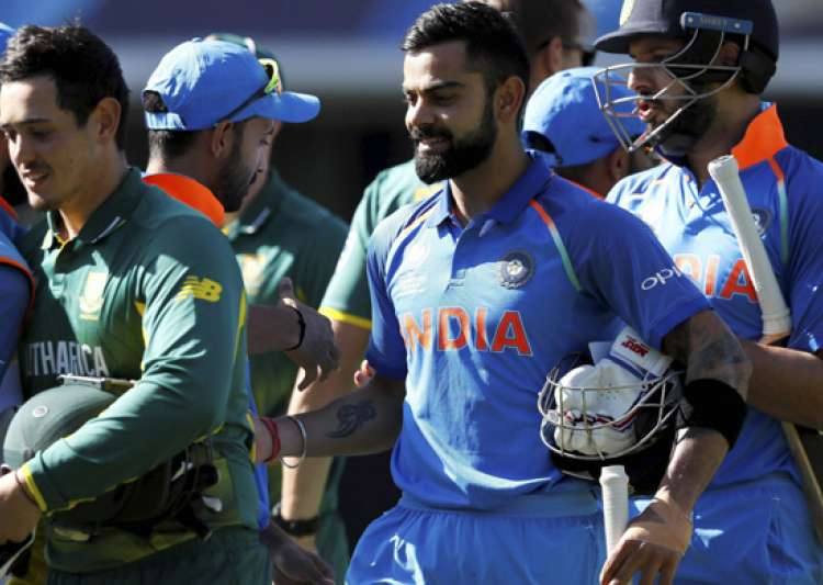India Beat RSA , Enters into Semi-Finals of Champions Trophy