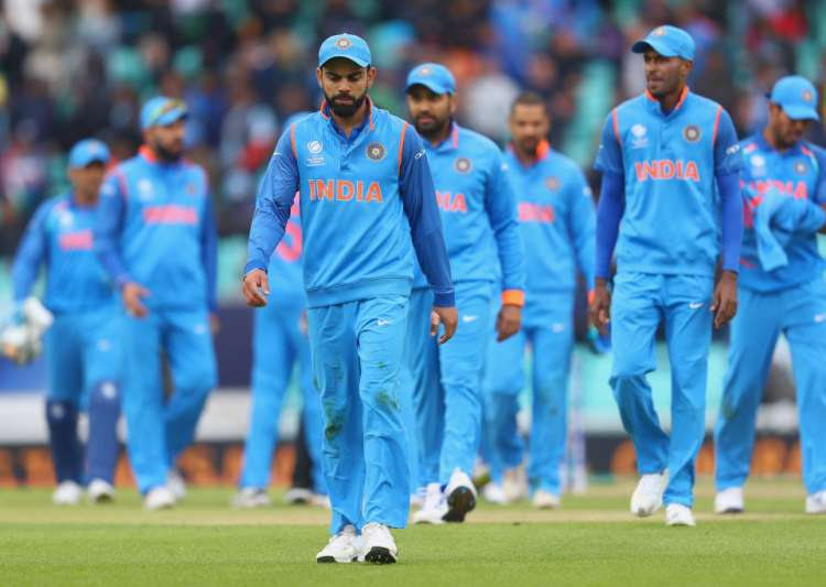 Virat Kohli of India leads the team off the field after- India Tv