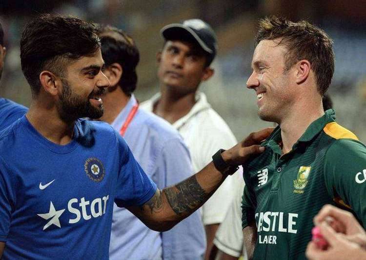 Kohli is a great player with a big heart, says AB de- India Tv