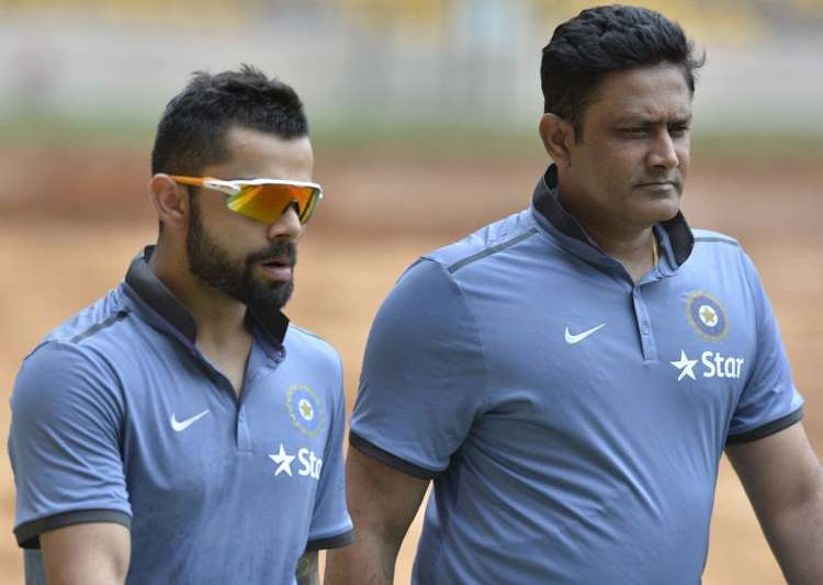Anil Kumble is likely to retained as India's chief coach.- India Tv