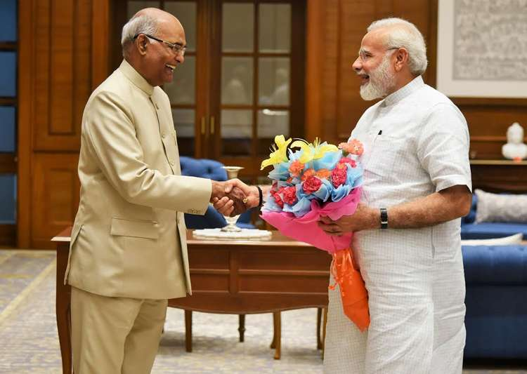 Ram Nath Kovind meets PM Modi in New Delhi